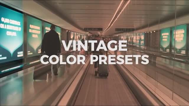 Vintage Color Presets: Premiere Pro Presets