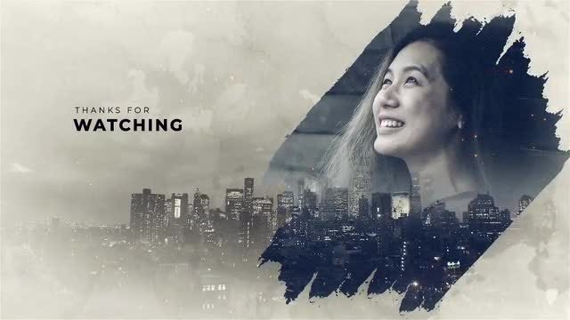 Brush Double Exposure: After Effects Templates