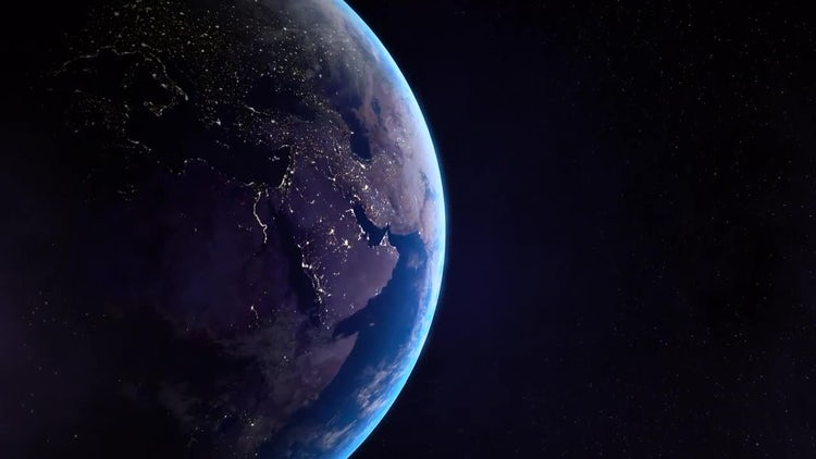Earth Side Night: Motion Graphics