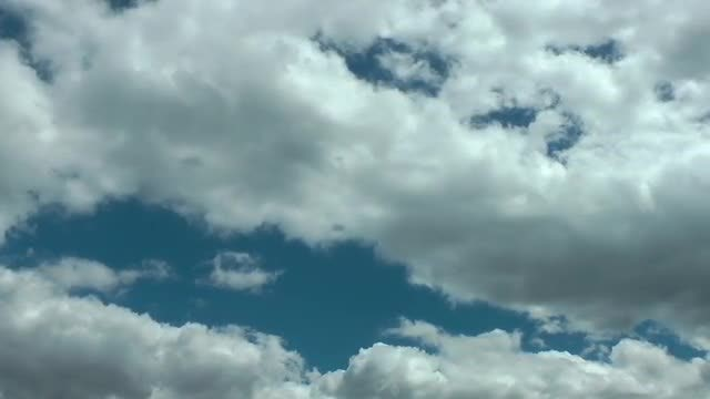 White Rain Clouds Moving: Stock Video