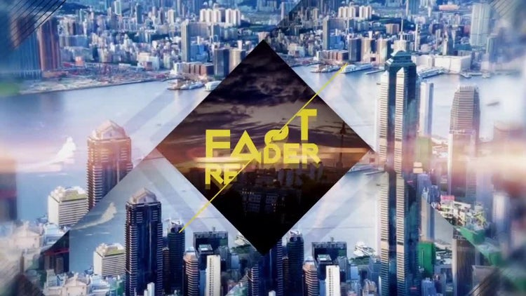 Inversed 4 Corners: After Effects Templates