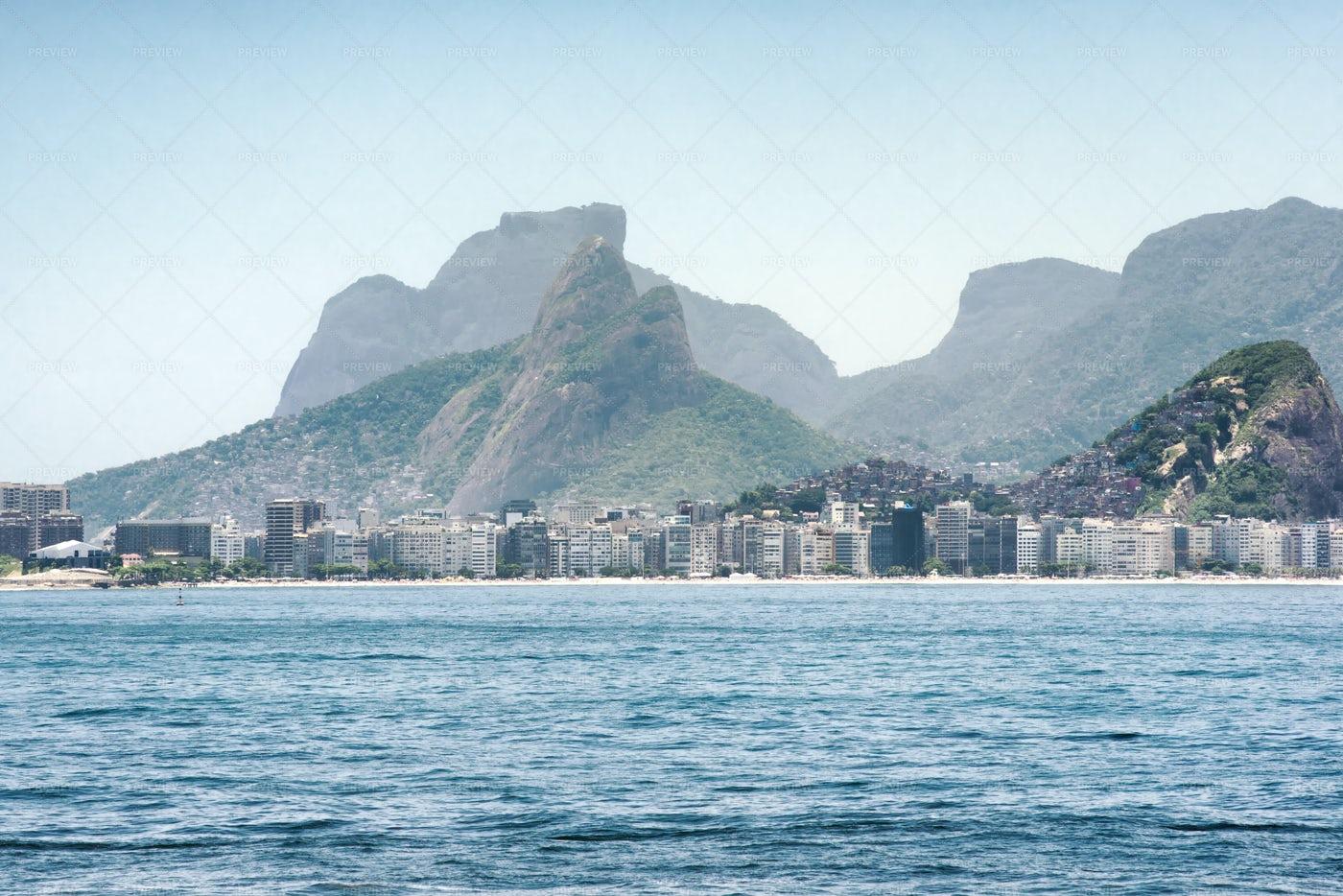 View Toward Copacabana Beach: Stock Photos