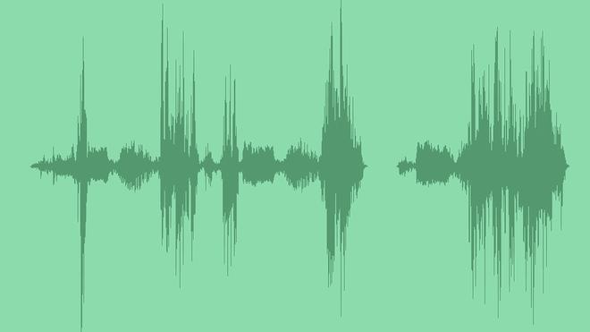 Futuristic Glitch Effect: Sound Effects