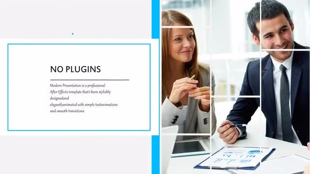 Clean Business Slideshow: After Effects Templates
