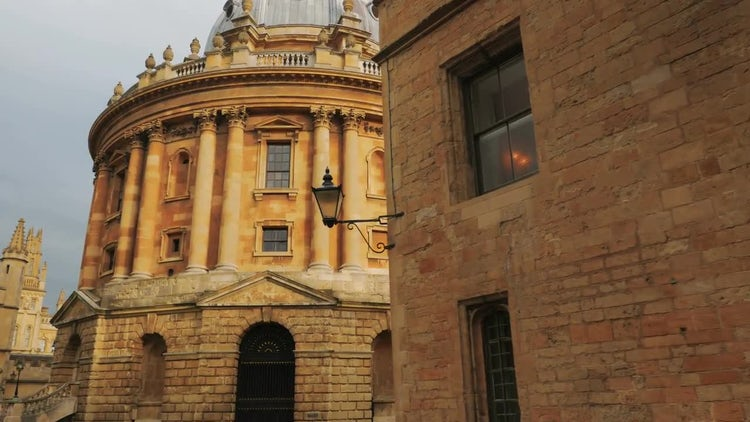 The Oxford University In England, UK: Stock Video