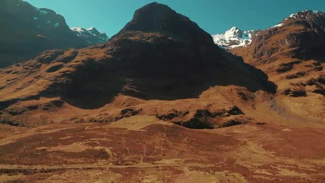 Beautiful Scottish Highlands: Stock Video