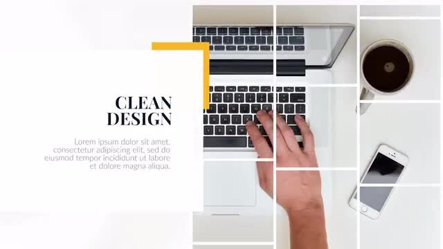 Clean Presentation - Premiere Corporate: Premiere Pro Templates