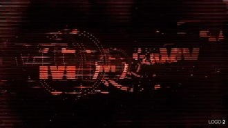 Glitch Dust Logo Pack: After Effects Templates