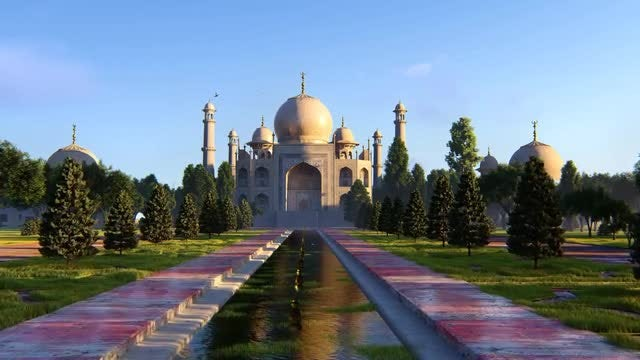 Taj Mahal: Stock Motion Graphics