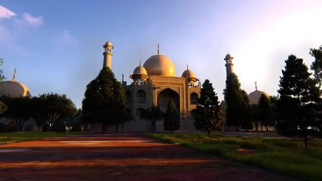 Taj Mahal 2: Stock Motion Graphics