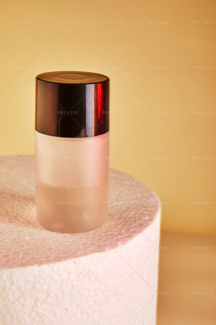 Perfume Bottles Without Label: Stock Photos