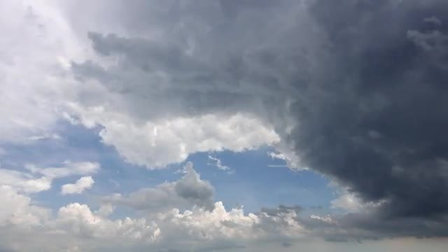Clouds Rolling With Impending Storm: Stock Video