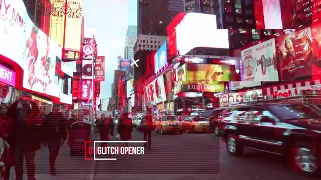 Glitch Opener: After Effects Templates