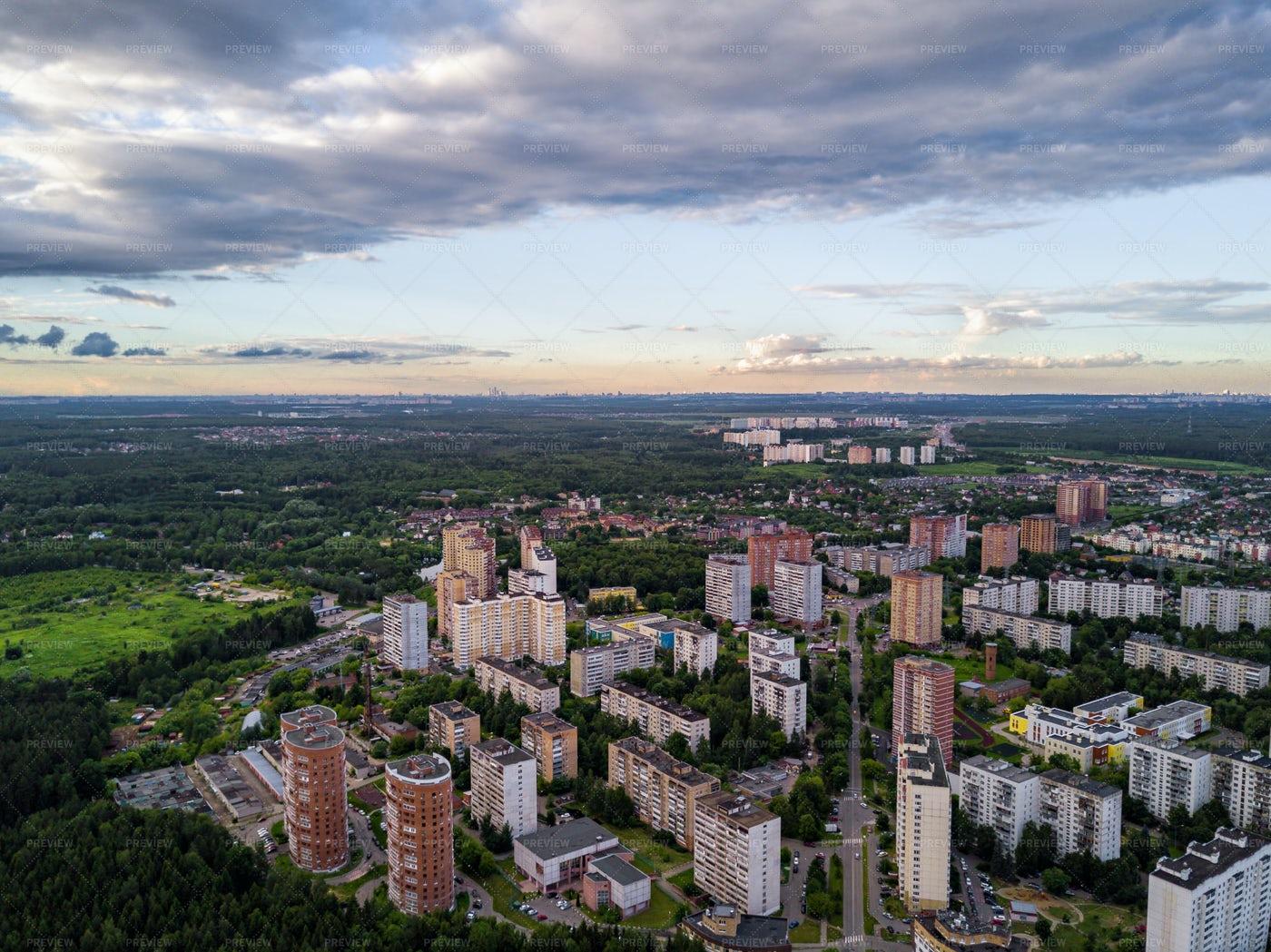 Troitsk City: Stock Photos