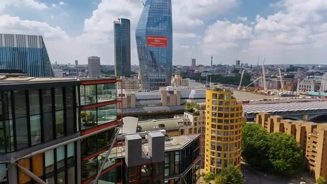 The Southbank Of London, UK: Stock Video