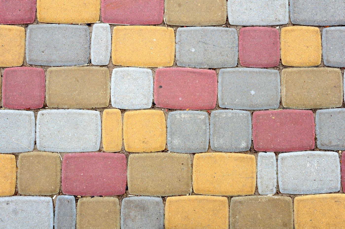 Colorful Stone Path Background: Stock Photos
