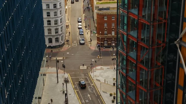 South London Business Complex: Stock Video