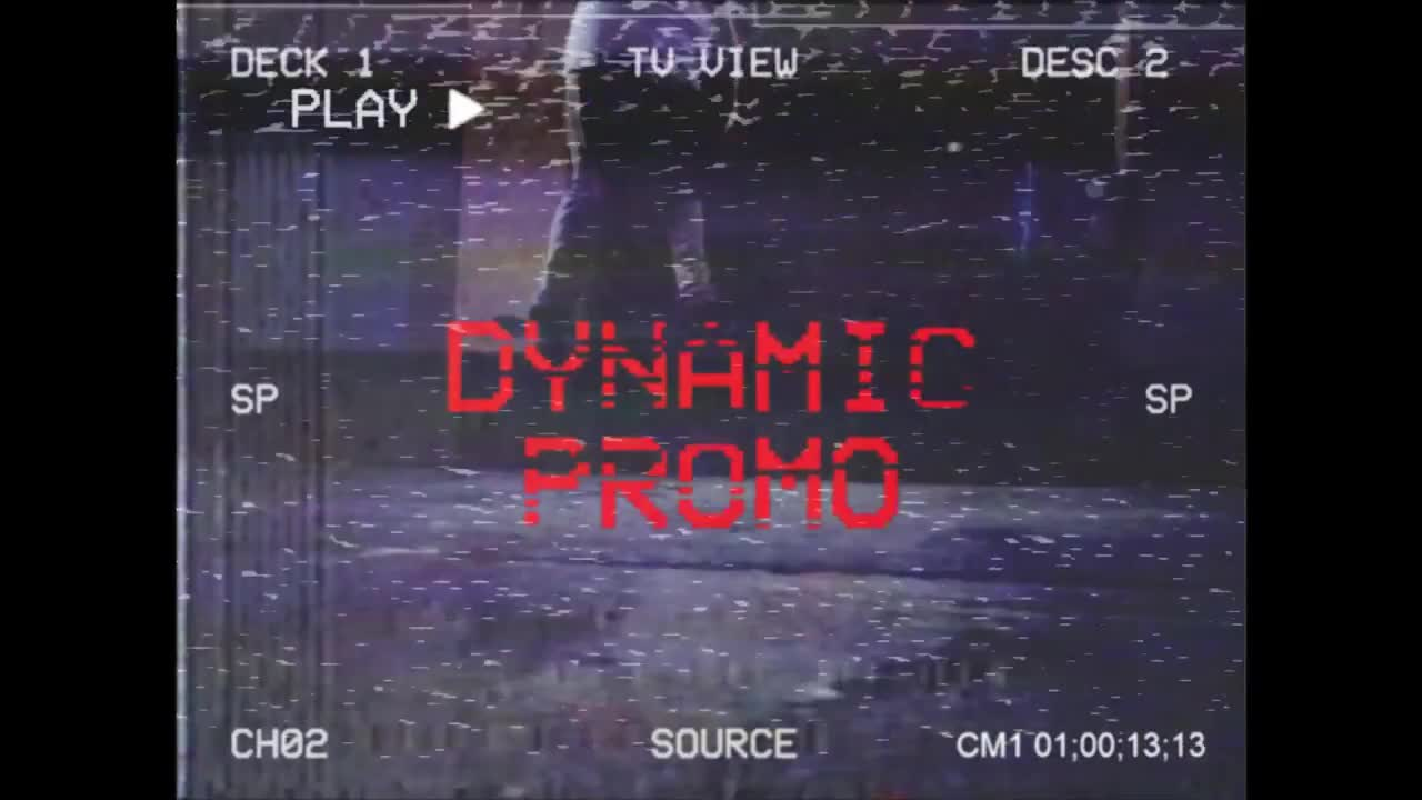 Retro VHS Opener - Premiere Pro Templates | Motion Array