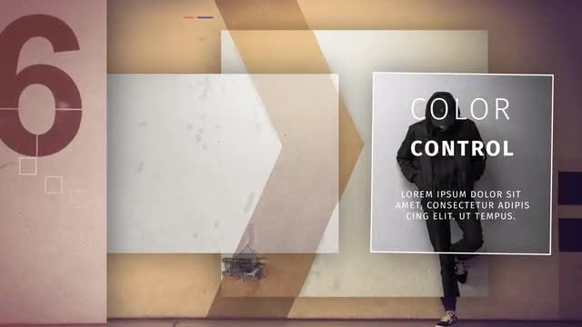 Creative Minimal Slideshow: After Effects Templates