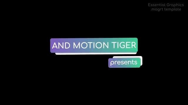 Stylish Self-Resizing Titles: Motion Graphics Templates