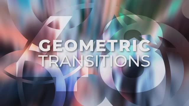 Geometric Transitions: Premiere Pro Templates