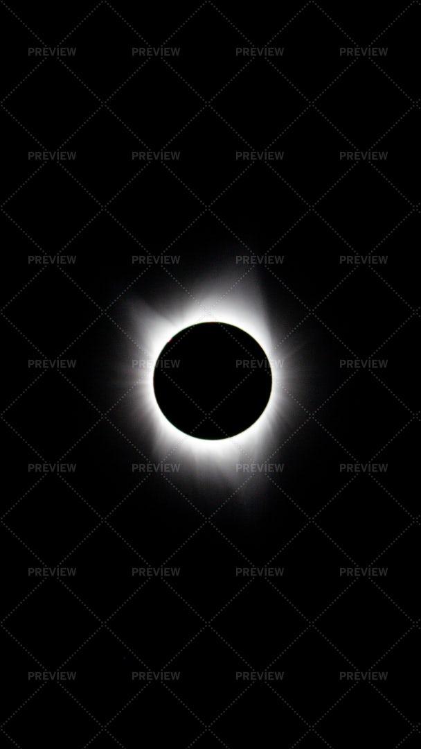 Epic Solar Eclipse: Stock Photos