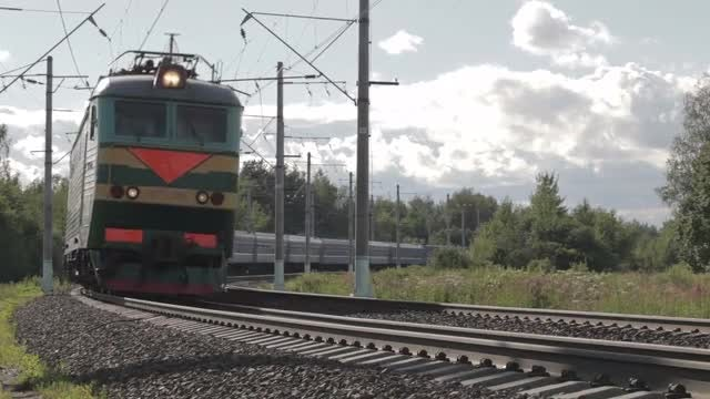 Electric Train : Stock Video