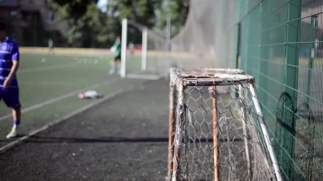 Before a Soccer Game: Stock Video