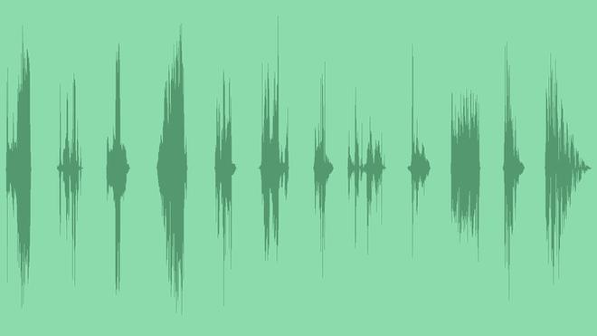 Short Glitch Transition: Sound Effects