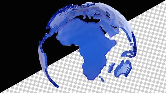Low Poly Earth: Stock Motion Graphics