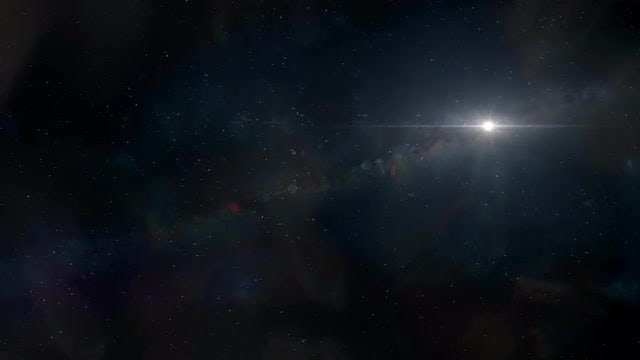 Generic Space Background: Stock Motion Graphics