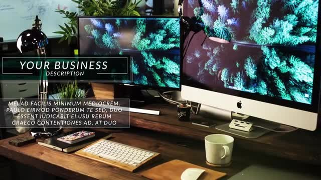 Stylish Corporate Slideshow V.2: After Effects Templates