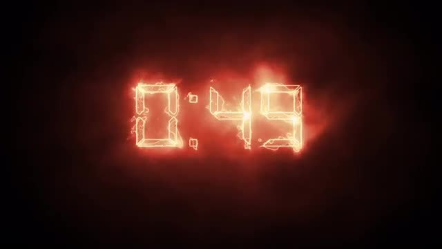 Fire Timer: Stock Motion Graphics