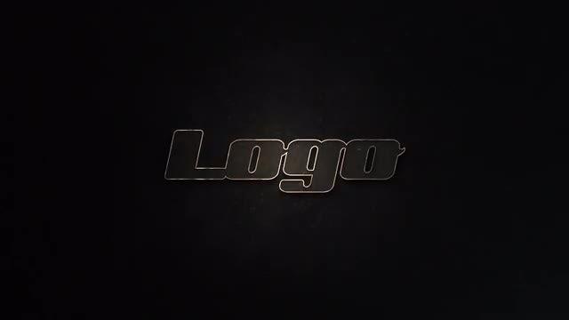 Dark Elegant Logo: After Effects Templates