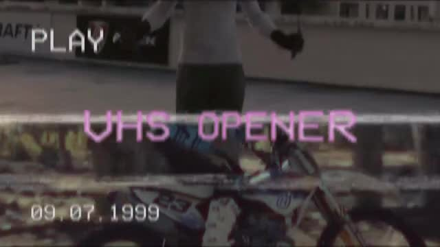 VHS Retro Opener: Premiere Pro Templates