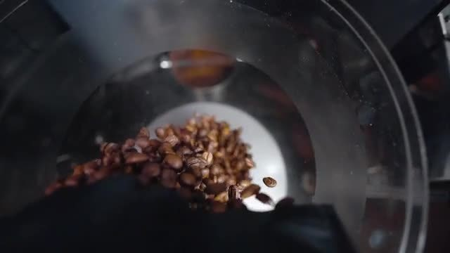 Coffee In Slow Motion : Stock Video
