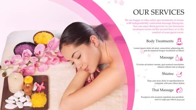 Beauty Spa Promo: After Effects Templates