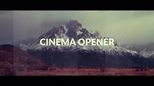 Cinematic Reel: Premiere Pro Templates
