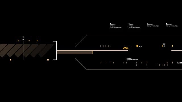 Hi-Tech HUD Line: Stock Motion Graphics