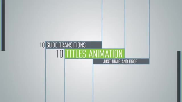 Smooth Corporate Lines Titles: Motion Graphics Templates