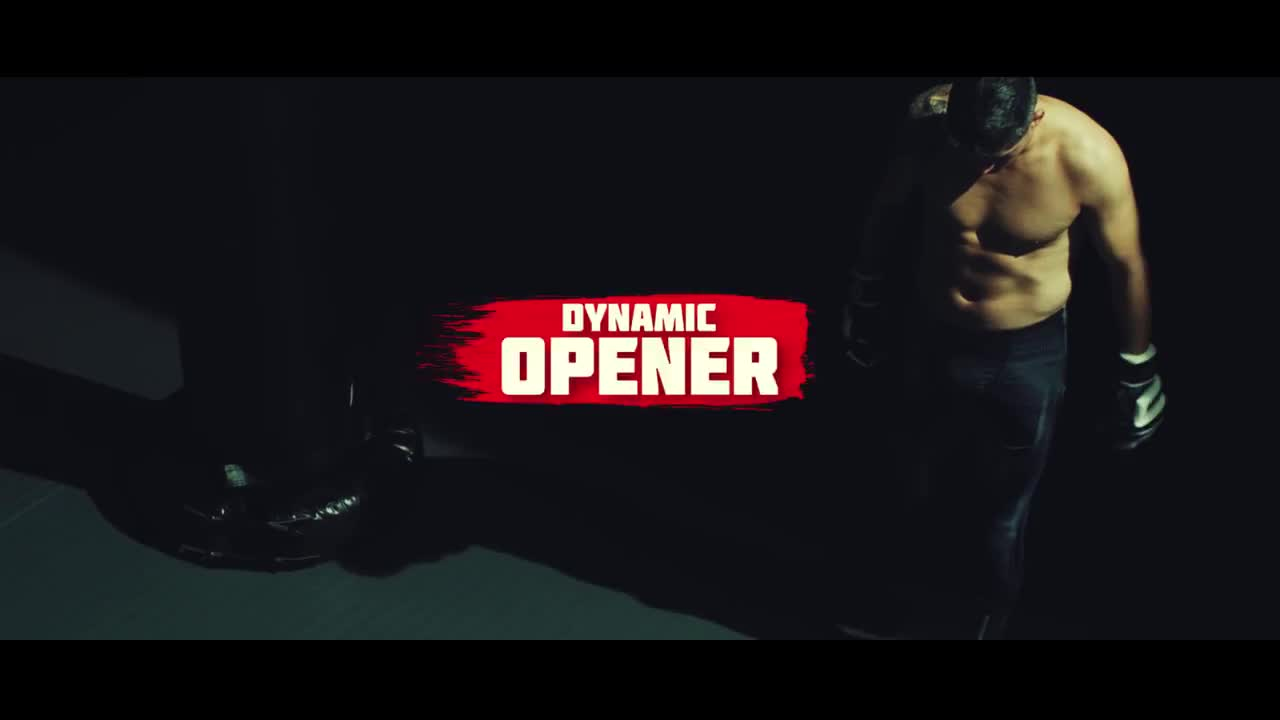 Special Sports Opener - Premiere Pro Templates 97283