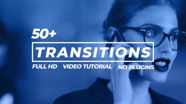 Transitions Pack: After Effects Templates