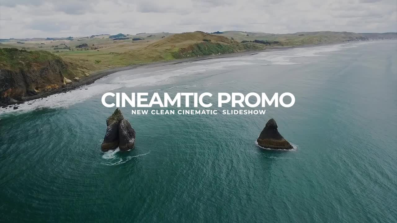 Clean Cinematic Promo - Premiere Pro Templates 97337