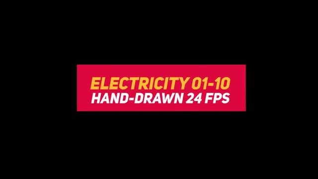 Liquid Elements 3 Electricity 01-10: Stock Motion Graphics