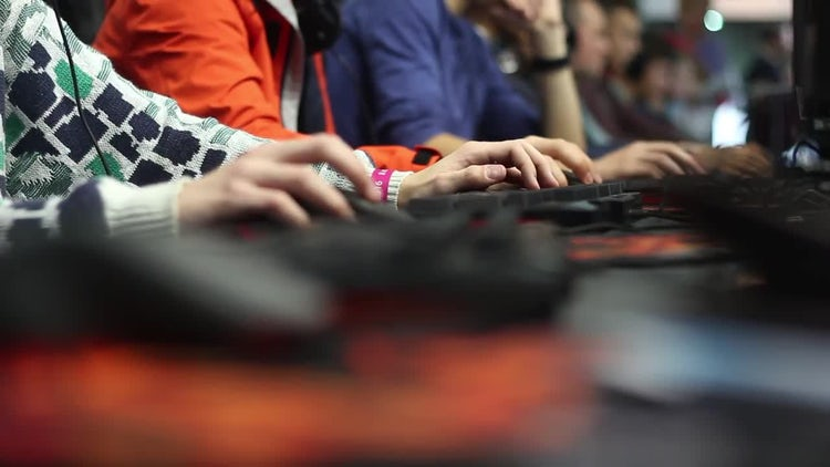 Cybersport And Gaming Worldwide: Stock Video