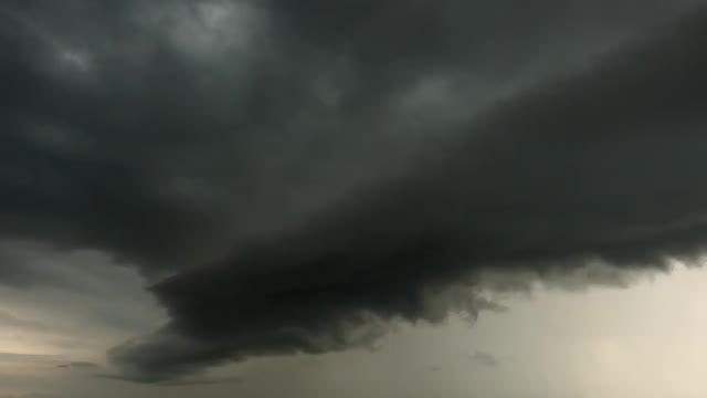 Magnificent Storm Clouds Moving: Stock Video