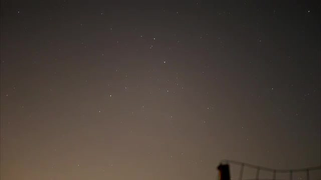 Time Lapse Of Night Stars: Stock Video