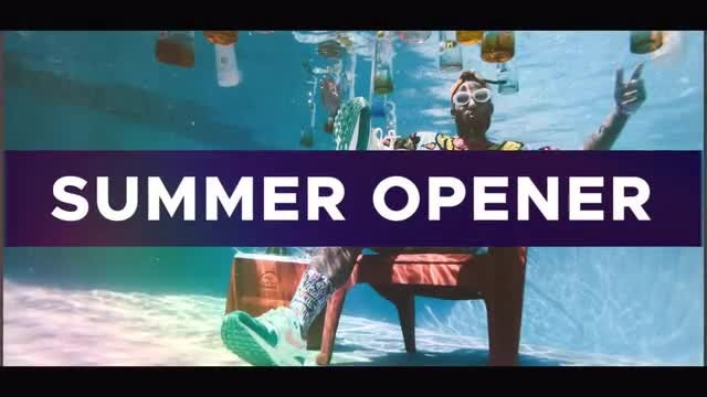 Summer Upbeat Opener: After Effects Templates