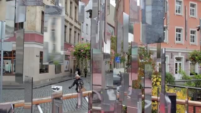 Tree Of Mirrors In Riga: Stock Video