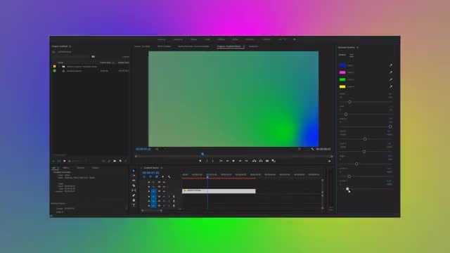 Gradient Controller: Motion Graphics Templates